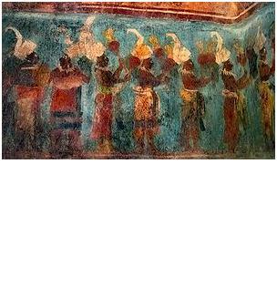 Mujeres de Bonampak