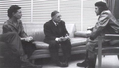 Simone, Sartre y el Che